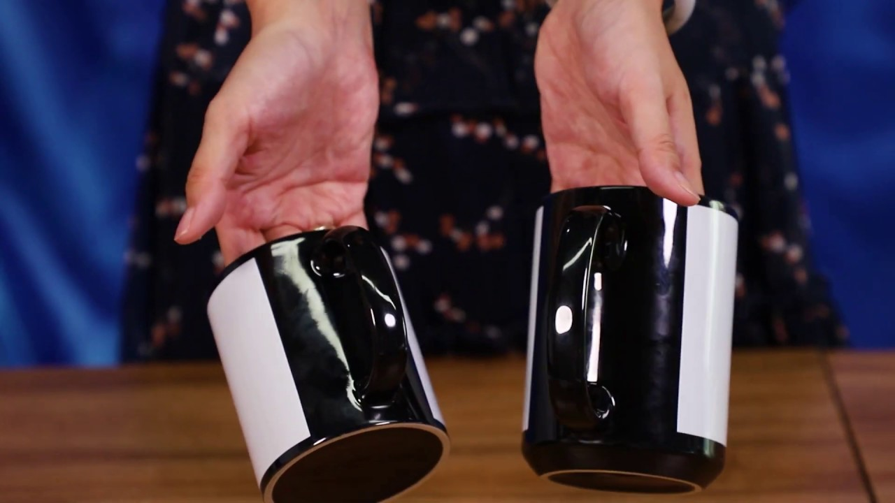 Black Mugs Can be Colorful! Check BestSub UPGRADED White Patch Mugs!