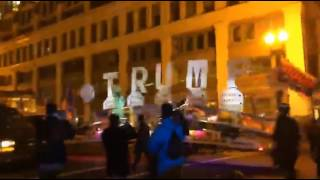 Trump Truck Trumps Anti-Trump Protesters at Deploraball