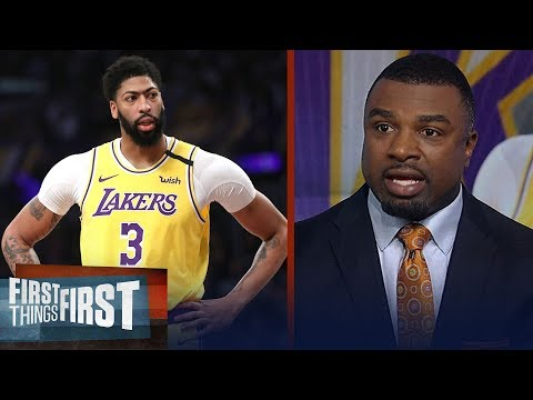AD's Injury Could Hurt Lakers' Chances In Early Playoffs — Westbrook | NBA | FIRST THINGS FIRST