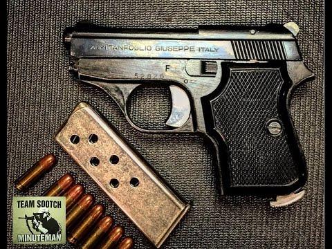 Tanfoglio Gt 27 25 Acp Italian Pocket Pistol Review Youtube