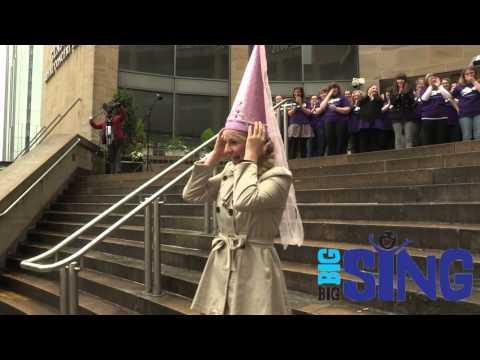 Big Big Sing Flashmob Proposal - Glasgow Royal Concert Hall