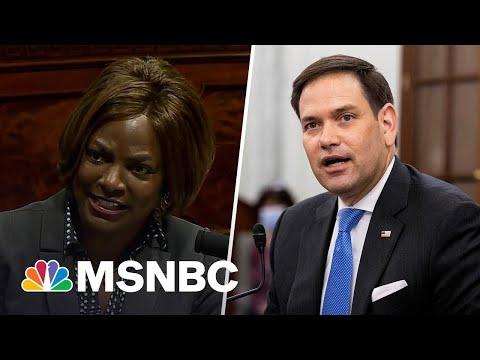 Plouffe On Florida Senate Race: 'Marco Rubio Seems Afraid Of Everything'