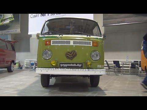 Volkswagen Transporter T2 (1979) Exterior and Interior in 3D