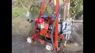 видео Станок буровой СБГ-5