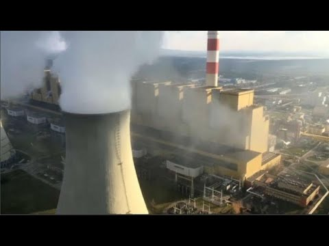 Protesto da Greenpeace em central de carvão