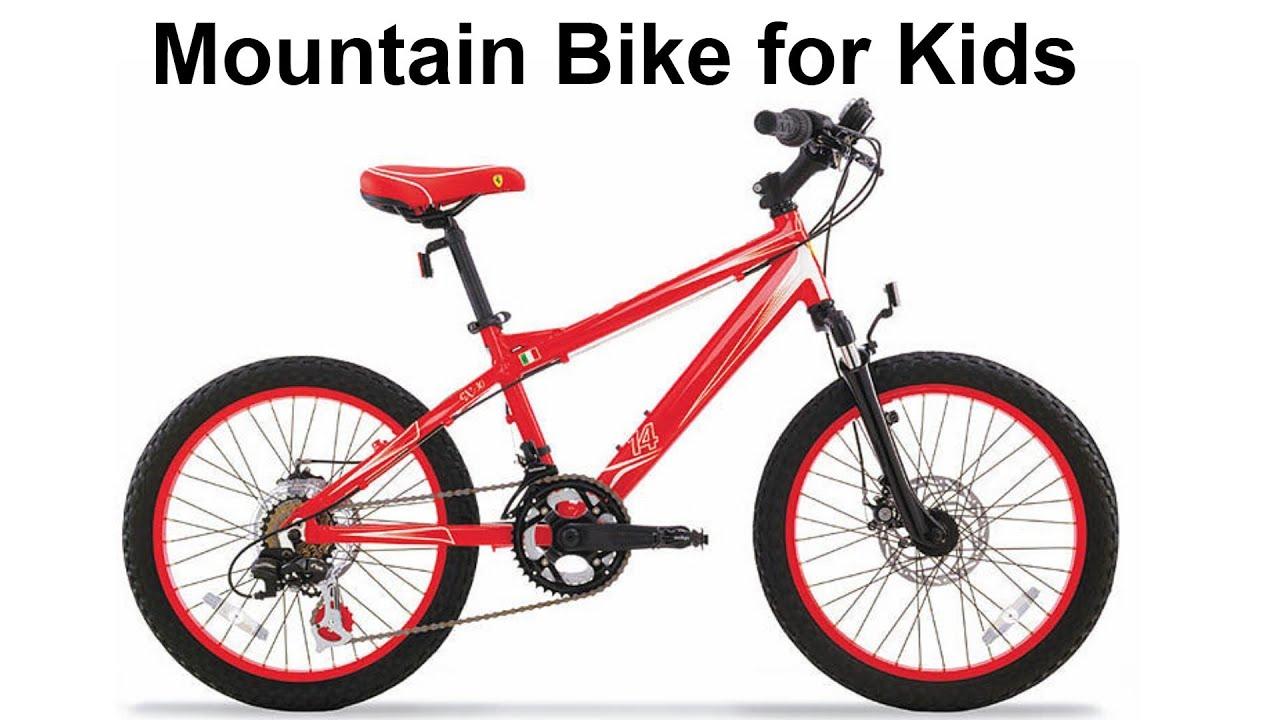 20 inch MTB -- Ferrari CX 30 Review Mountain Bicycle - YouTube