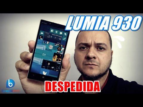 LUMIA 930 - DESPEDIDA