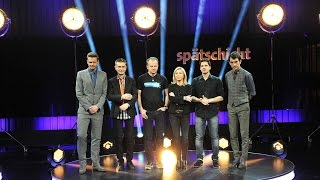 Spätschicht im März | Richling, Astor, Solga, Alain Frei und Deuser