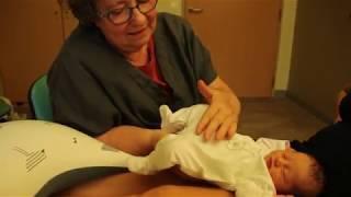 Séance de thérapie crânio-sacrée avec un nouveau-né (version courte)