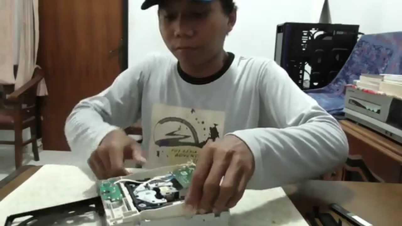 Cara Membuka Dvd Rom Pada Komputer Youtube