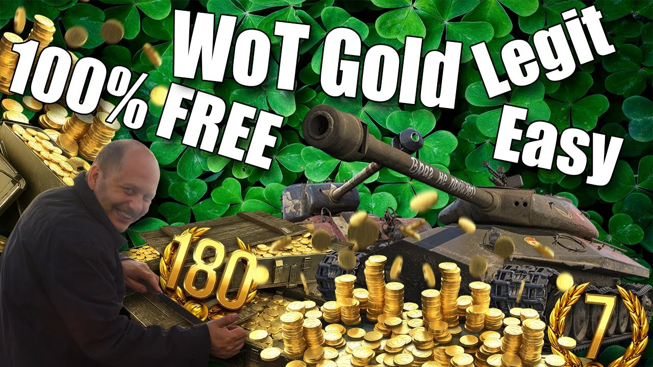 WoT || How To Get FREE Gold || 100% Works