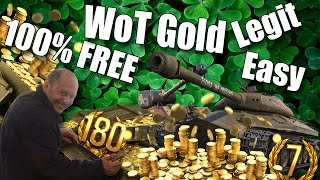 World of Tanks || How To Get FREE Gold || 100% Works(Yo guys I finally found a legit way to get free gold for WoT very easy thanks to one of my subscribers :). Hope u enjoy! *WARNING* This video if for informative ..., 2017-03-08T19:52:37.000Z)