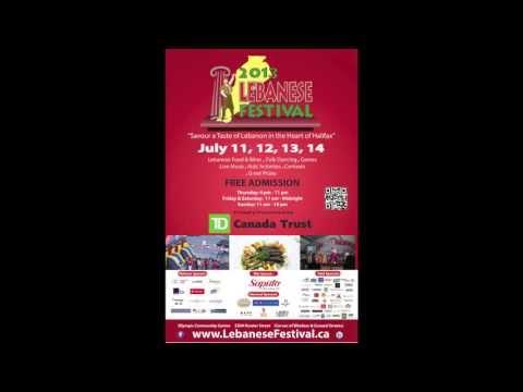 CBC Radio features Lebanese Festival Halifax 2013