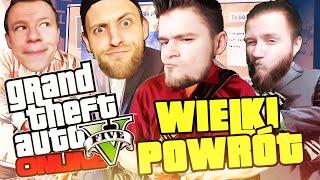 SETNY ODCINEK - WIELKI POWRÓT! | GTA V Online [#100] (With: Plaga, Kubson, Diabeuu] #Bladii