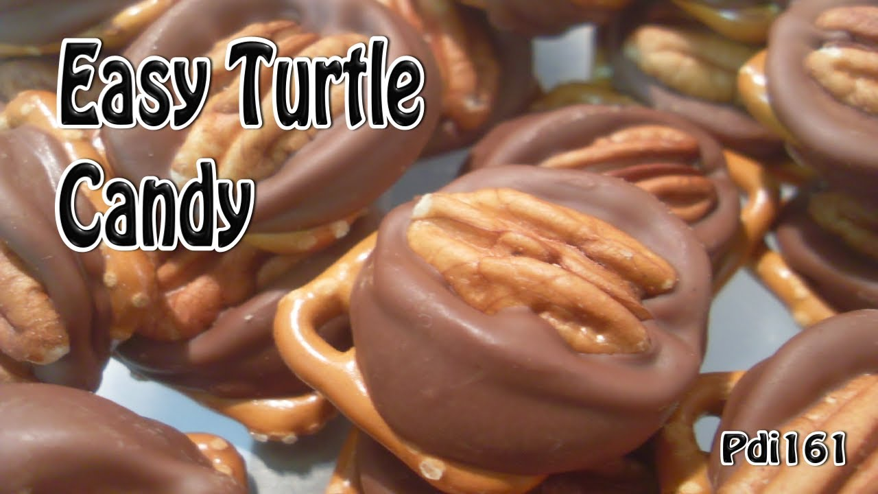 easy candy recipes easy turtle recipe 12421