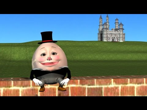 Humpty Dumpty Nursery Rhyme 3D Animation