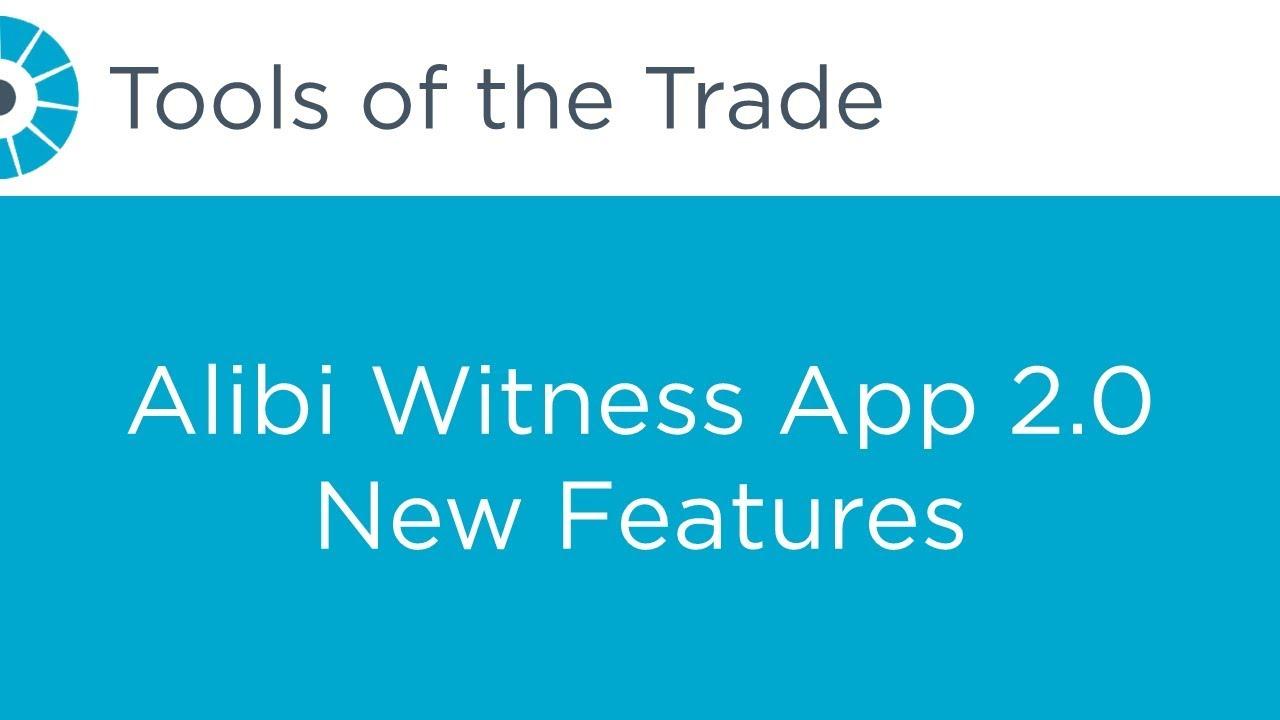 ALIBI Witness App Archives