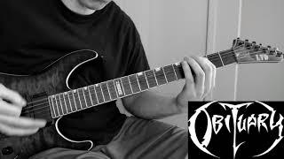 Obituary ~ Deny You [ rhythm guitar cover ]