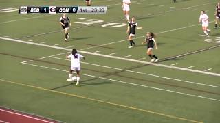 Bedford Bulldogs Girls Soccer vs Concord Crimson Tide - September 27, 2018