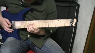 Lalle Larsson's Weaveworld  City Of Lost Souls solo cover  (strandberg cl7)