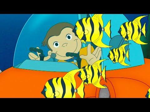 Jorge el Curioso en Español | Jorge Pilotea Un Submarino | Compilación 🐵 Caricaturas Para Niños