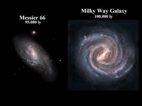Comparison Of The Entire Universe Updated 2011 Moons Planets Stars Nebulas Galaxies Clusters