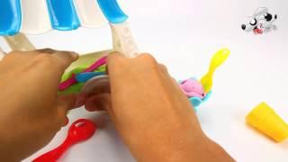 Уроки Play Doh Rainbow Pudding Super Easy Пластилин 30