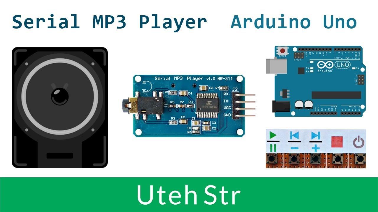 Arduino Mp3 Player Module Serial Mp3 Player Module Yx5300 Aa19hfa440 94 With Arduino Uno Youtube