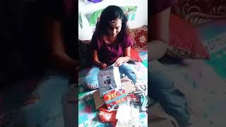 Crazy birthday gift to girl..| birthday gift got in suspense