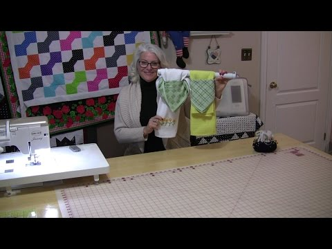 Quick And Easy Dish Cloths For The Stove Handle
