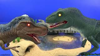 Dinosaurs - jurassic world !!! Dinosaurs toys - COMPILATION 3 Video for kids | 2 HOURS