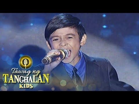 Tawag ng Tanghalan Kids: Keifer Sanchez | Shine  (Grand Finals)