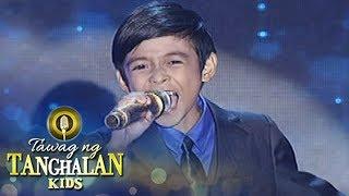 Tawag ng Tanghalan Kids Keifer Sanchez Shine Grand Finals
