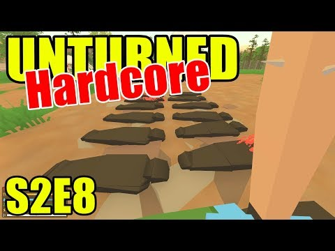 Unturned HARD Mode - So Many Body Bags!! - S2E08 (New Brunsw