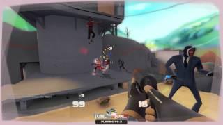 TF2: Pyro, Rainblower, Lollichop & The Scorch shot (Commentary)