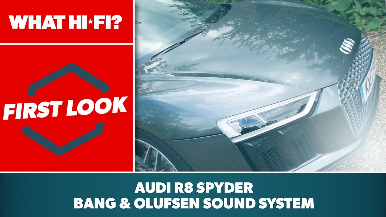 2017 Audi R8 Spyder Bo Sound System Hands On Review Youtube