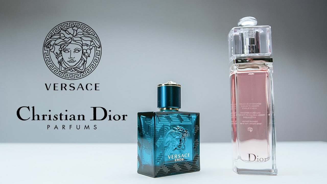 Видеоролики для каталог парфюма. Фрагмент Versace&Dior