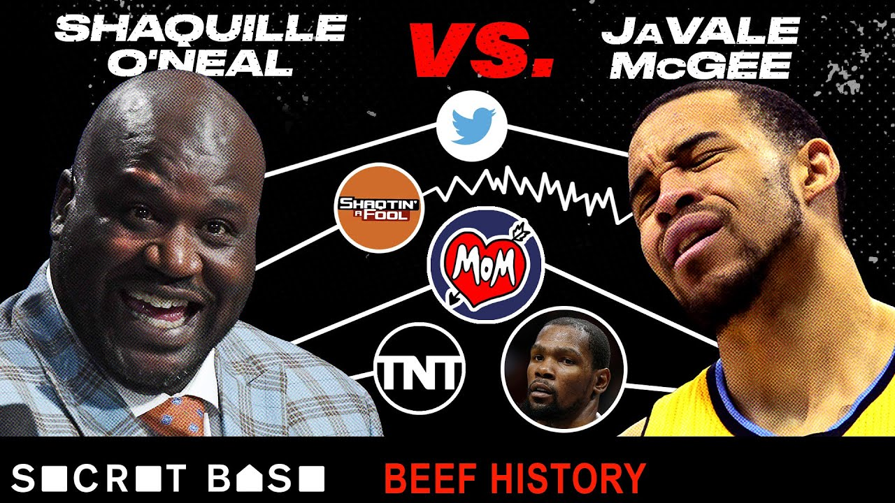 The Shaq-JaVale McGee beef became so nasty their moms got involved\