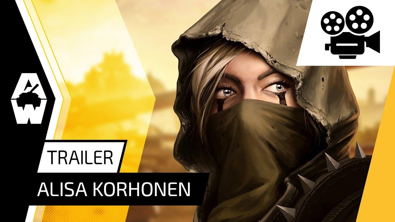 Armored Warfare - Alisa Korhonen Trailer