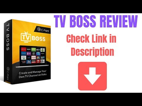 TV BOSS REVIEW - Create a Roku Channel ! See Description. http://bit.ly/2PlLNR0