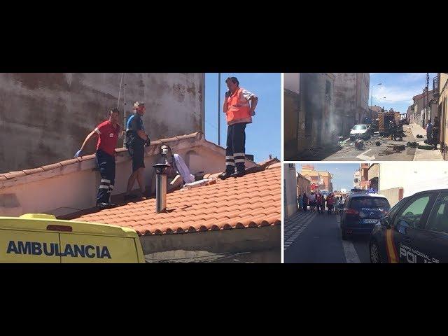 VÍDEO: Incendio mortal en la calle Limón de Salamanca