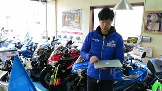 業者用仕入れオークションで隼仕入れました!山形県酒田市バイク屋 SUZUKI MOTORS