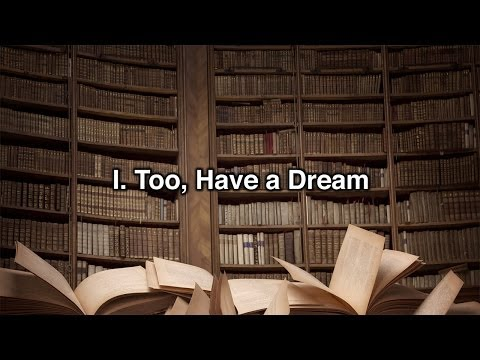 """""""I Too, Have A Dream"""" by Author Dan Hurwitz"""