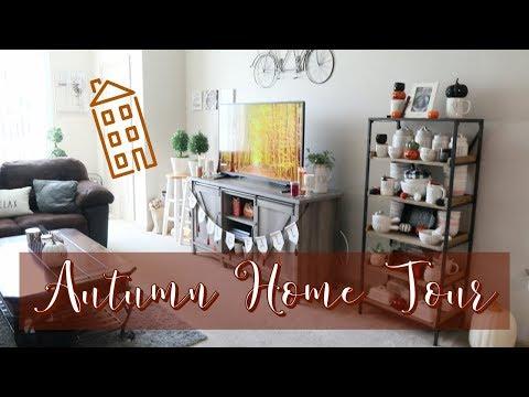 COZY FALL HOME TOUR 2019 || AUTUMN FARMHOUSE DECOR || HALLOWEEN HOME TOUR 2019