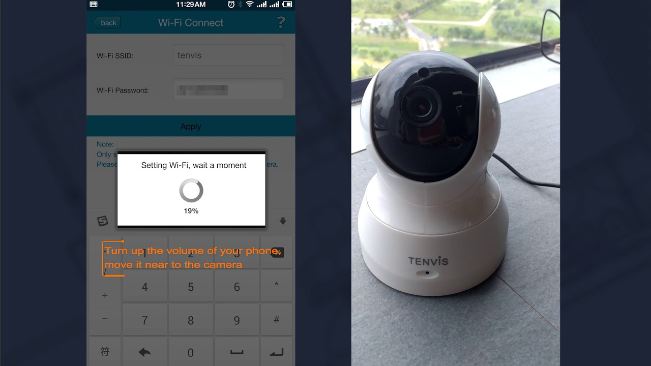 How to configure Wi-Fi via iMegaCam APP?