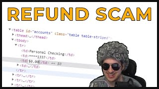 Angry Refund Scammers VS Fake Bank Account