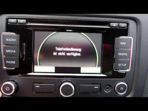 Erstkontakt VW RNS 310 B
