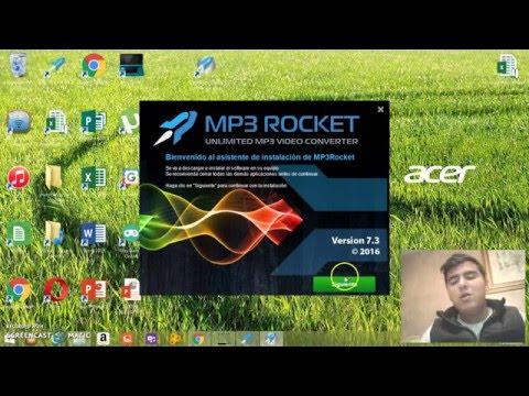 tutorial de como descargar musica de youtube mp3 rocket