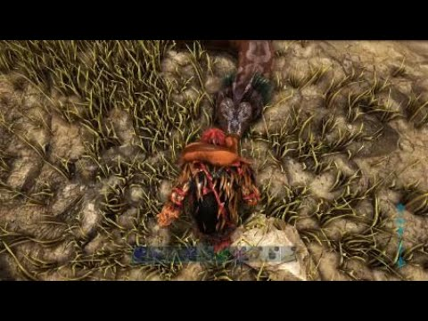 ARK PS4Pro】ティタノボアを地上...
