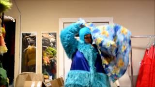 How to be a mascot : Seadog custom mascot costume